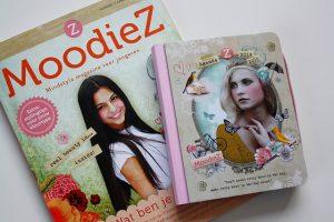 Moodiez Magazine mindstyle magazine voor jongeren mooi beauty By Dagmar Valerie agenda