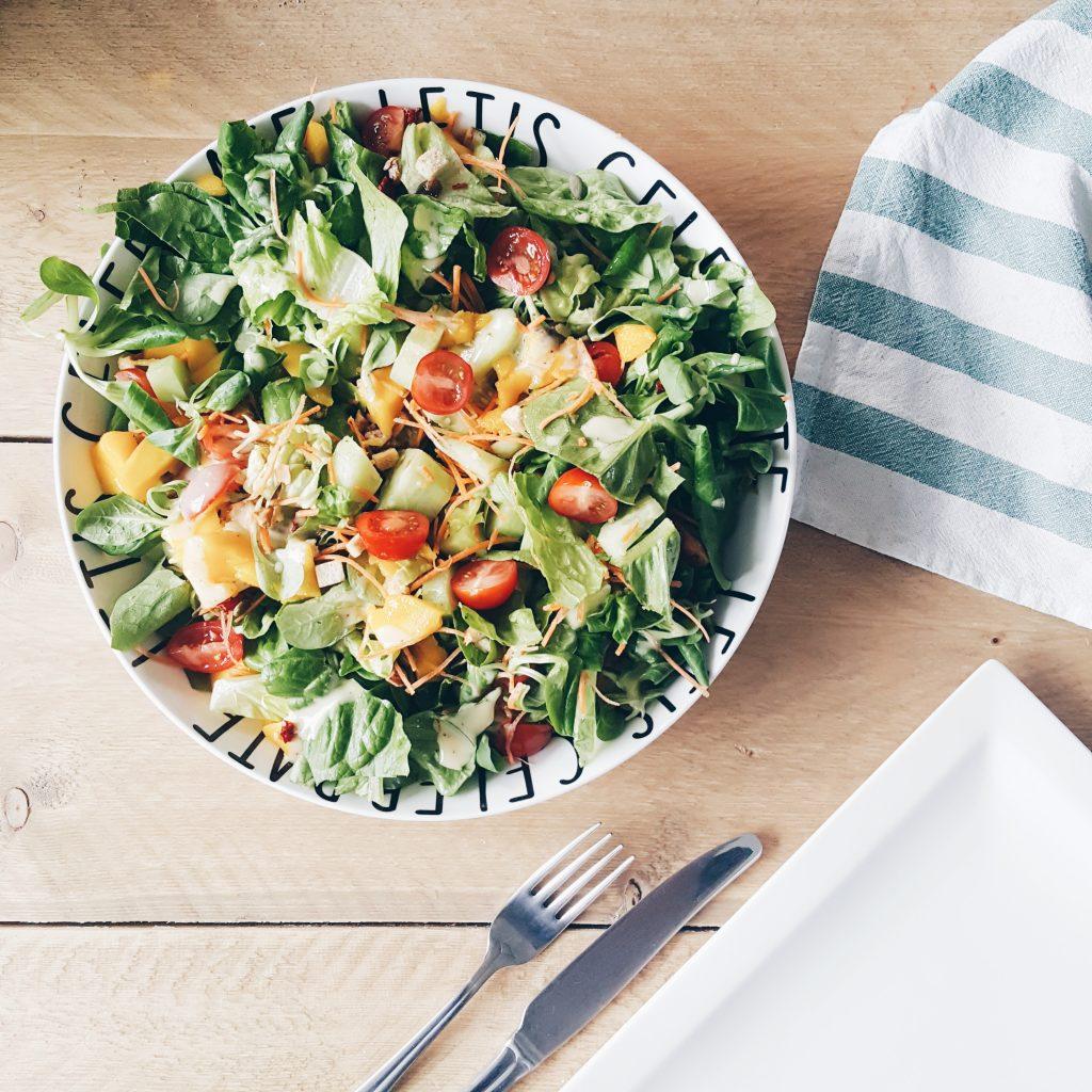 luxe salade mango