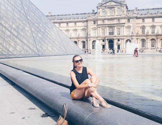 Parijs Louvre Dagmar Valerie