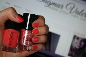 By Dagmar Valerie blog nail Catrice Call me Princess Coral