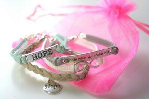 Handmade handgemaakt sieraden armbandenset Hope By Bien ByDagmarValerie winactie
