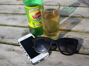 Lipton Ice Tea Green Iphone 5S summer