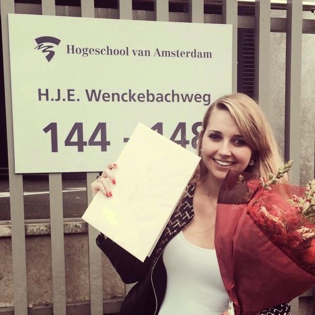 PERSONAL – Ik ben officieel afgestudeerd!