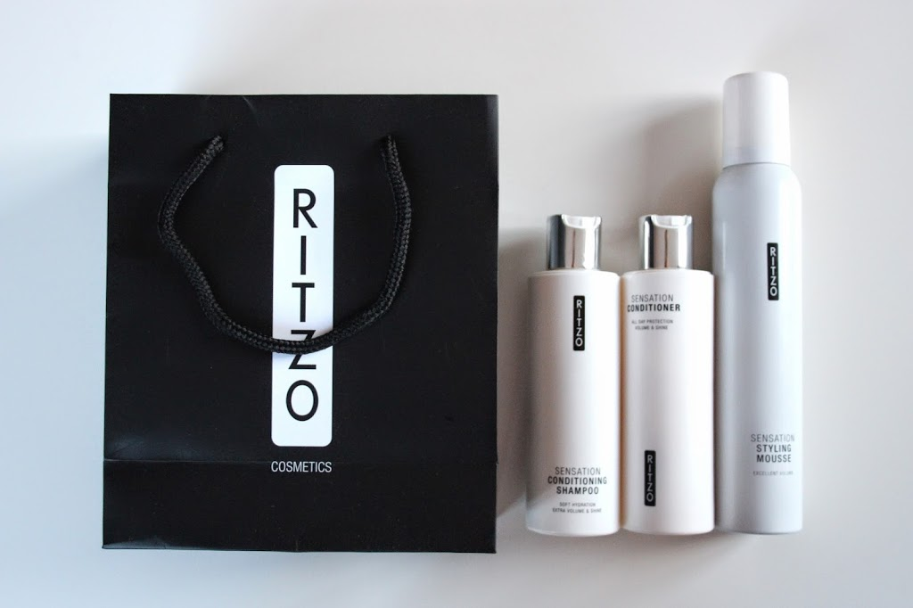 BEAUTY – Ritzo Sensation shampoo, conditioner & mousse