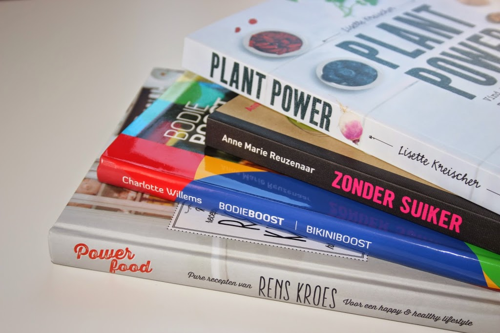 BOOKS – 4 x Happy & Healthy Lifestyle boeken