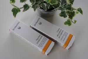 Vitaliserend masker en Melissecrème van Dr. Hauschka