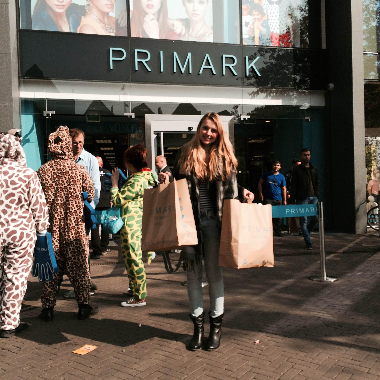 Opening Primark Venlo + shoplog