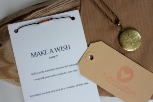 Winactie – Ketting en 'Make a wish' armband