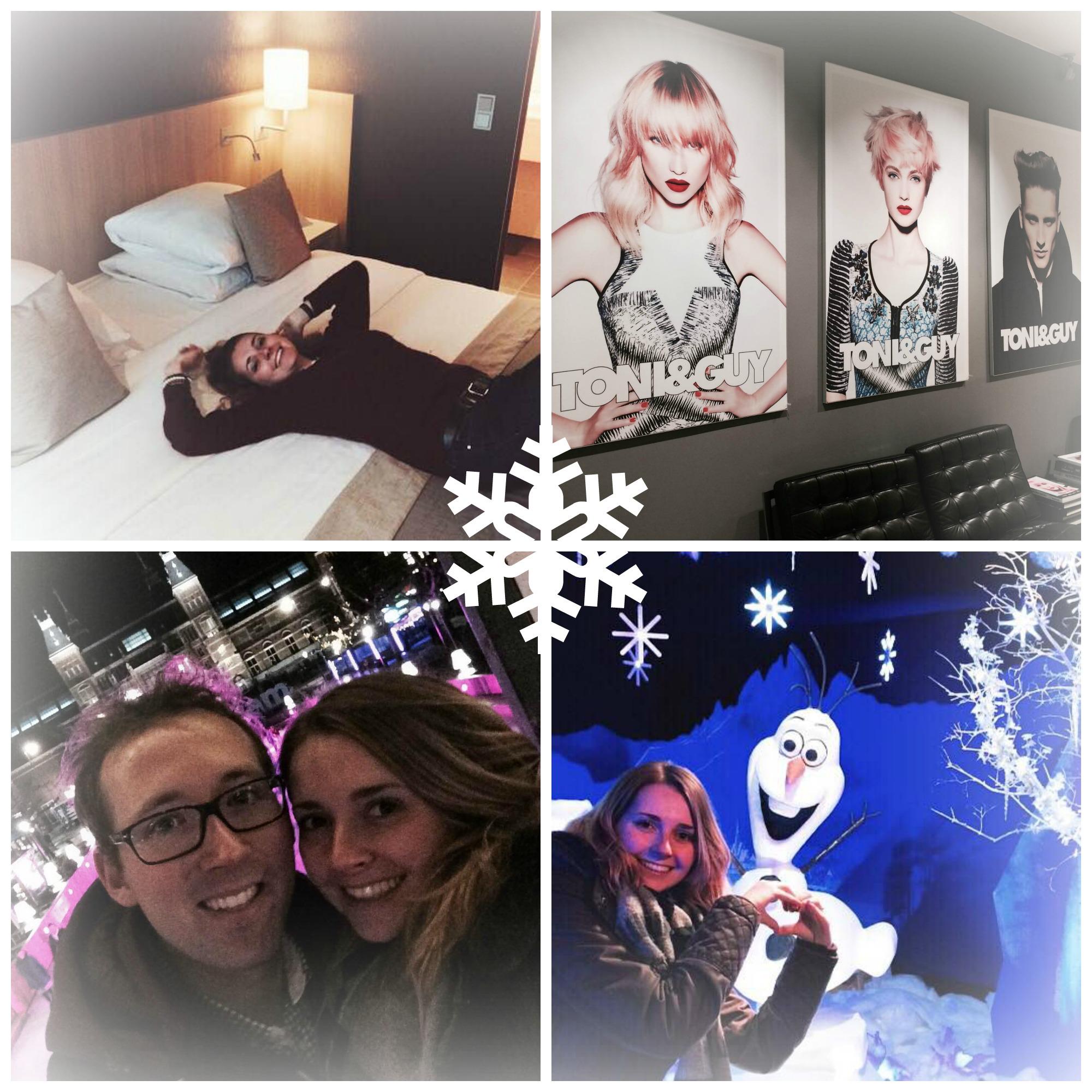 Plog 12/12 – Mercure Hotel, Treatwell, de kerstman en Olaf