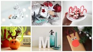 Creatieve, makkelijke en feestelijke DIY's voor kerst