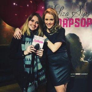Behind the scenes met 'Soapsop' van Liza Sips