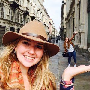 Anne en ik gingen met srprs.me naar Turijn