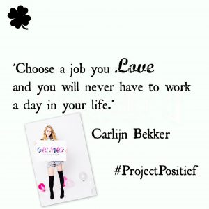 Project Positief Close Up – Carlijn Bekker over plezier