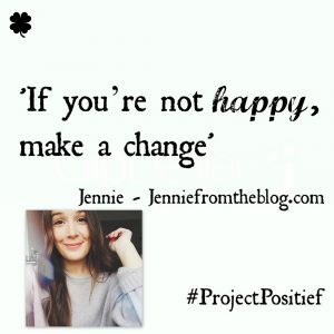 Project Positief Close Up – Jennie (Jenniefromtheblog) over groei