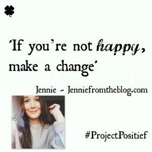 Project Positief Close Up – Jennie (Jenniefromtheblog) over groei