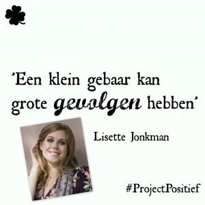 Project Positief Close Up – Lisette Jonkman over humor