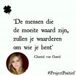 #ProjectPositief – Chantal van Gastel over doorzetten