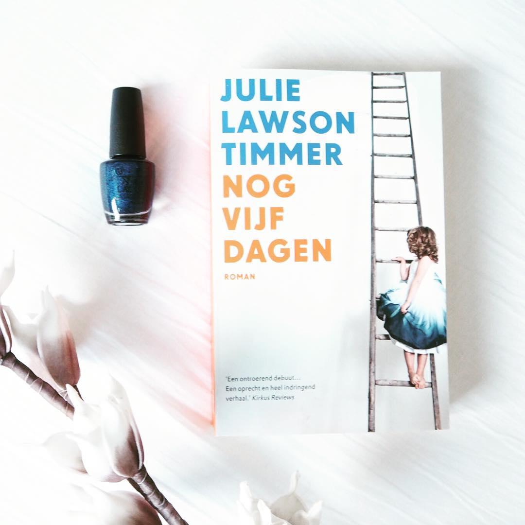 'Nog vijf dagen' door Julie Lawson Timmer ontroerend debuut