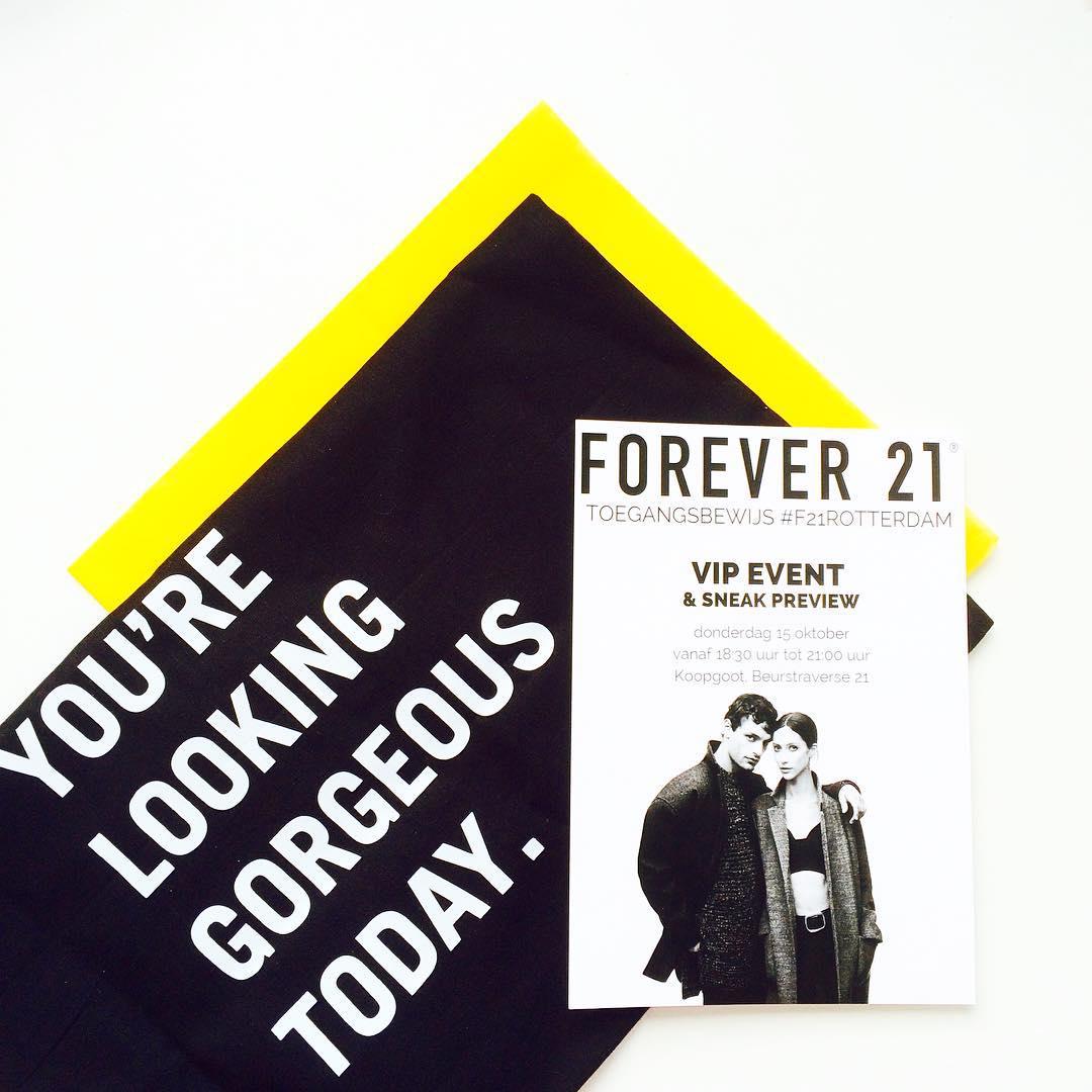 Shoplog – Opening Forever 21 Rotterdam