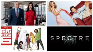 Movieguide #4 – The Intern, Spectre en Big Hero 6