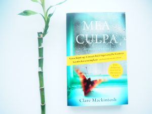 Blogtour – Mea Culpa van Clare Mackintosh