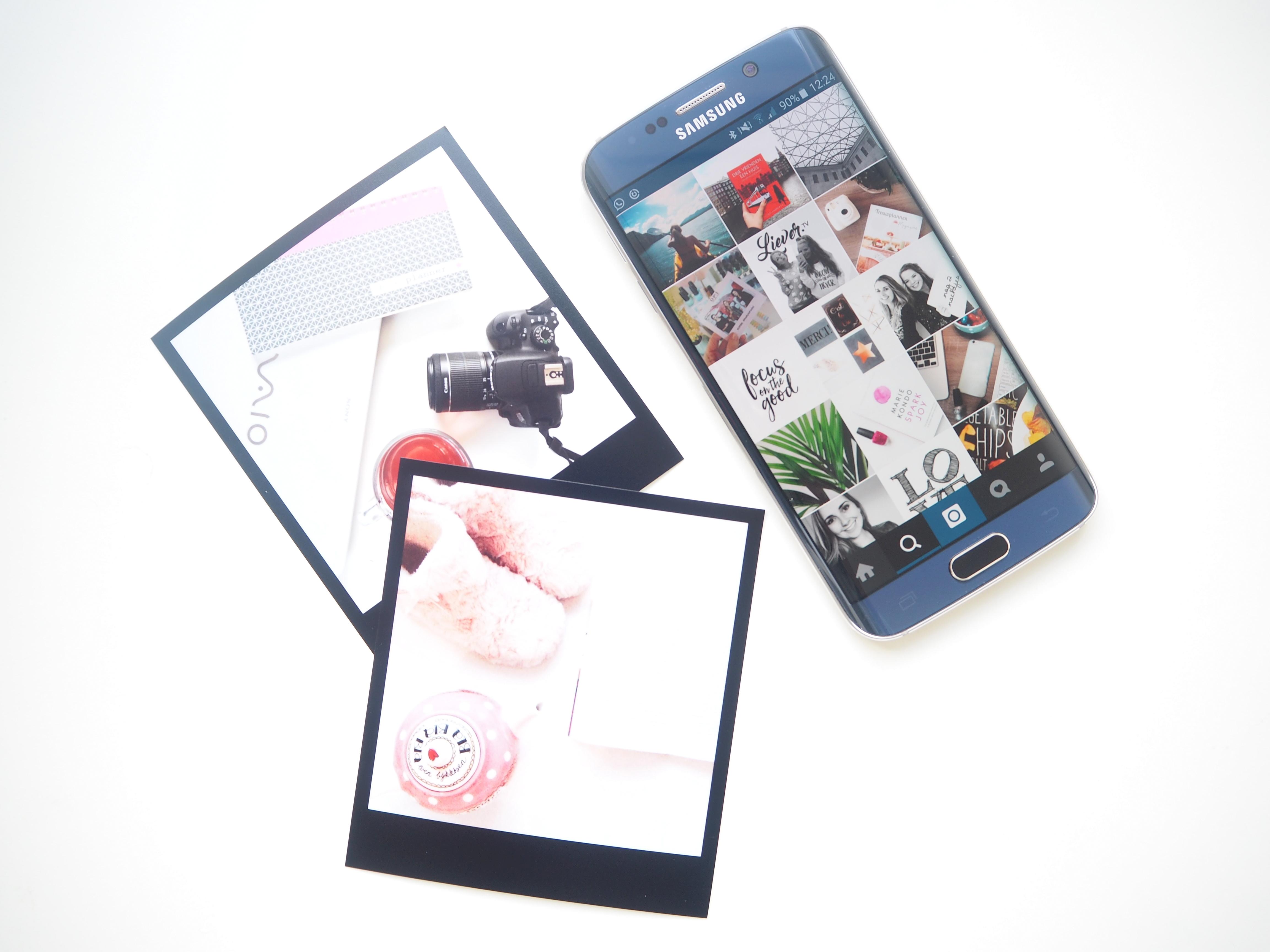 Hoera, mijn nieuwe telefoon Samsung Galaxy S6 Edge