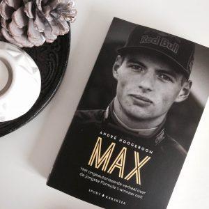 Boekentip – Max Verstappen is de jongste Formule 1-winnaar