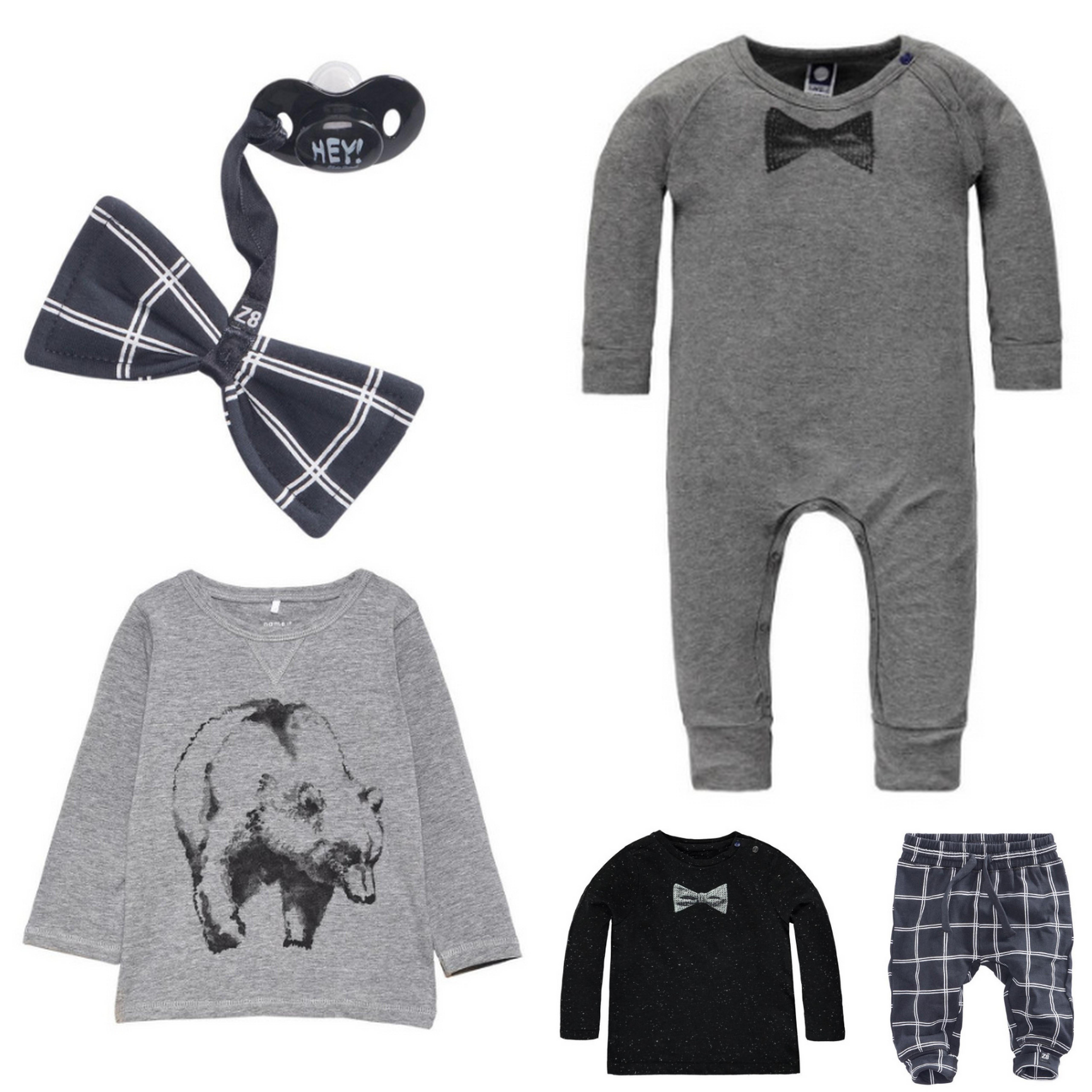 De kledingstijl van onze baby