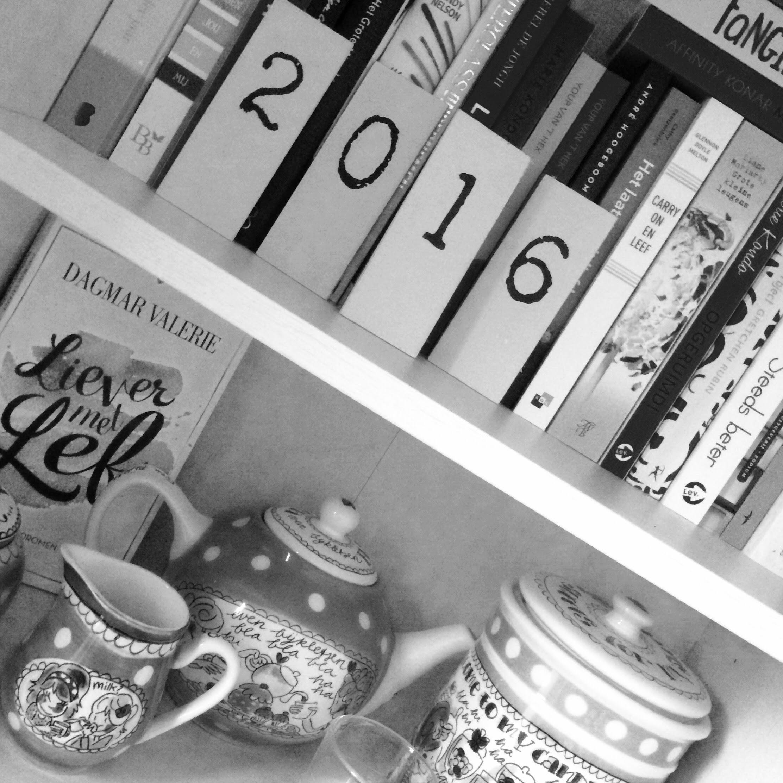 Mijn 2016 in boeken en terugblik op de reading challenge