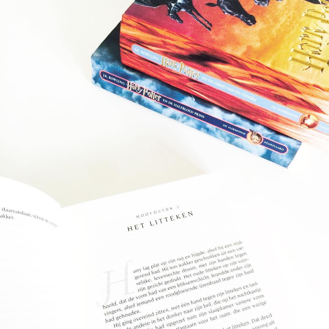 Het herlezen van de Harry Potter boeken