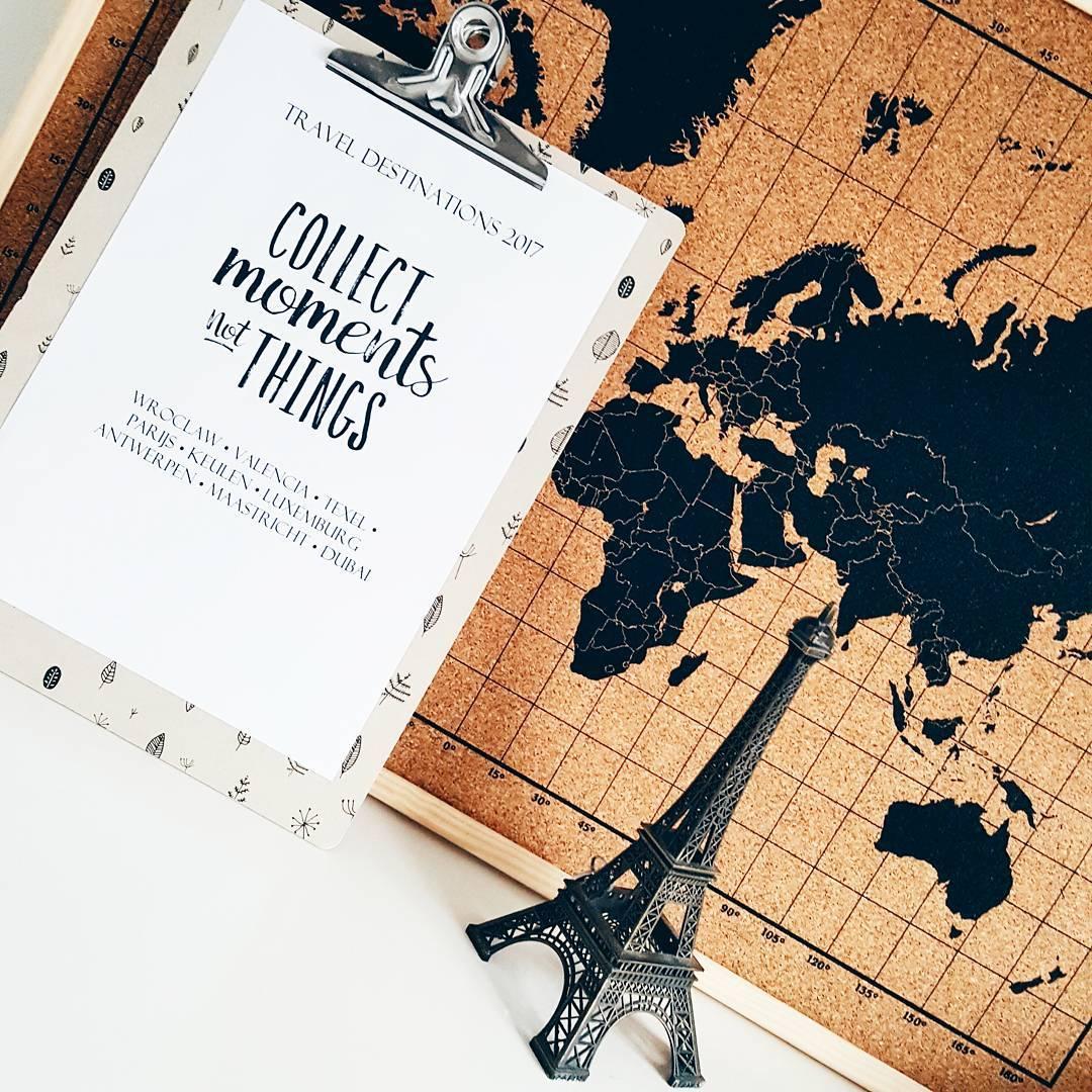 Dromen en fantaseren over (rond)reizen in 2018