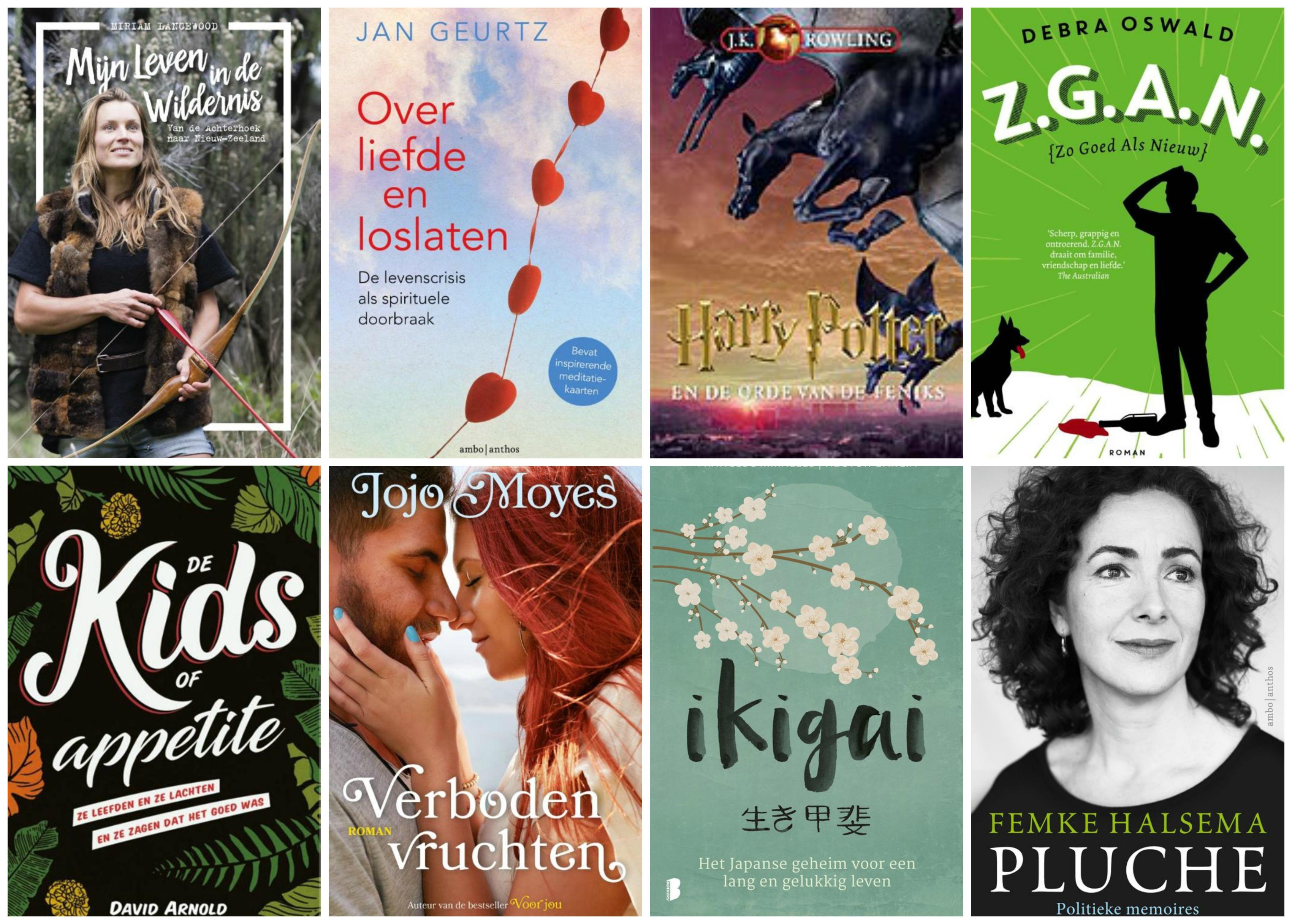 8 X Boeken die ik dit voorjaar héél graag zou willen lezen