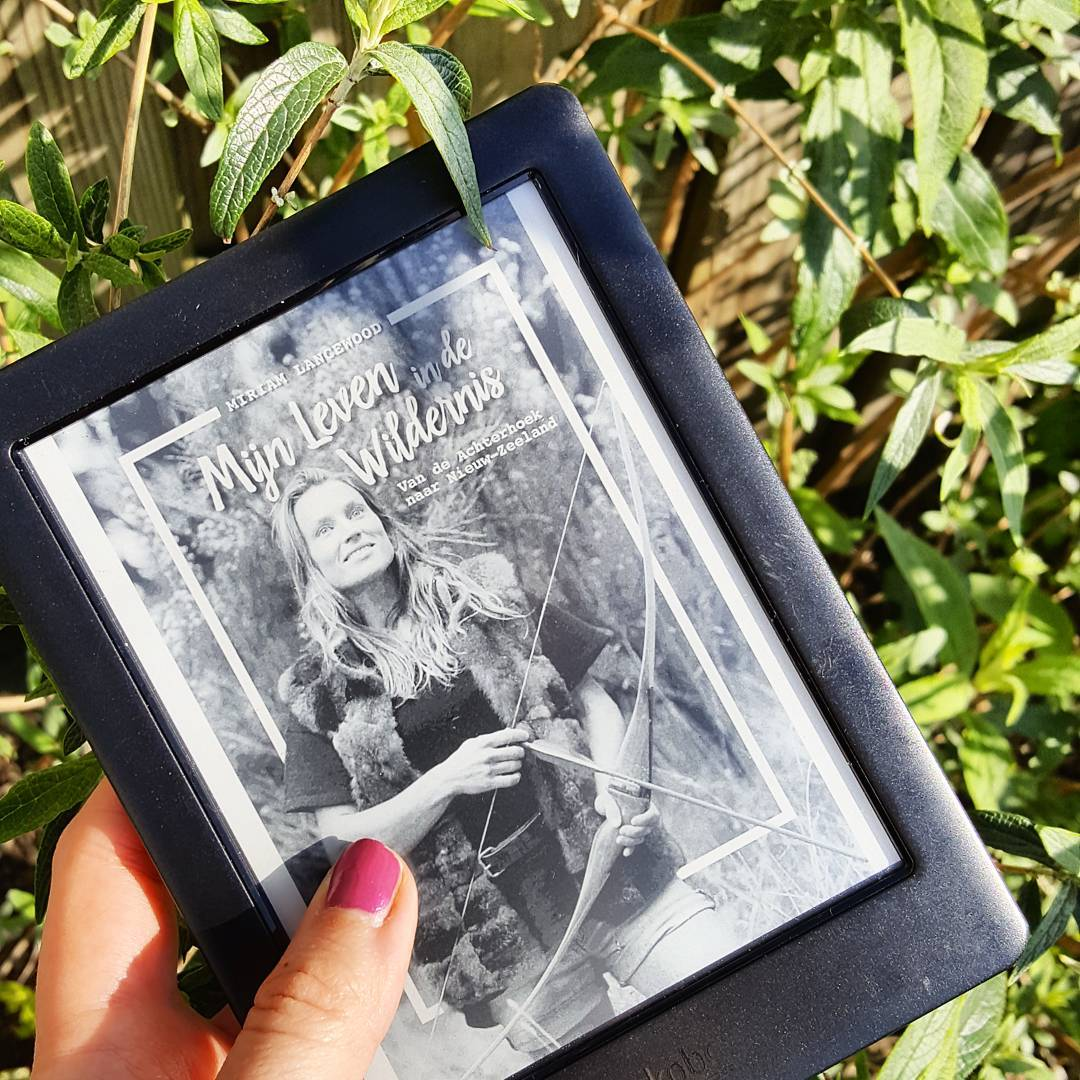 Miriam Lancewood schreef het boek 'Mijn leven in de wildernis'