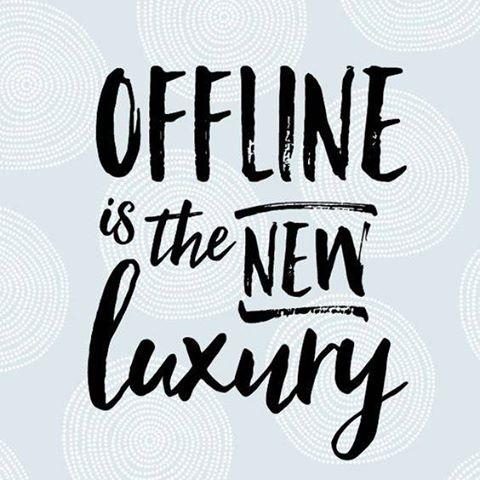 Digiminderen – Offline is de nieuwe luxe