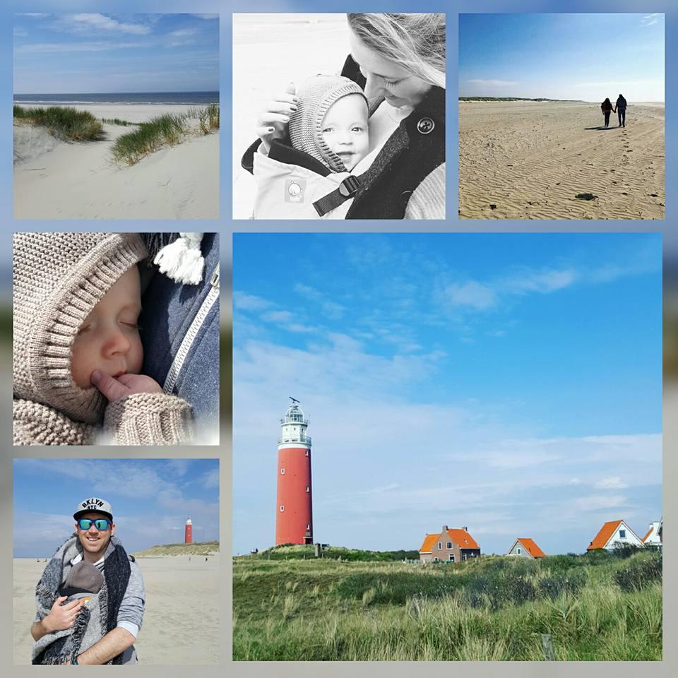 Wij genoten van Texel én vierden mijn eerste Moederdag