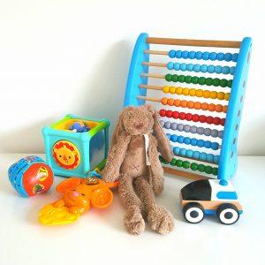 7 Favoriete speeltjes van Lucas (baby van een half jaar)
