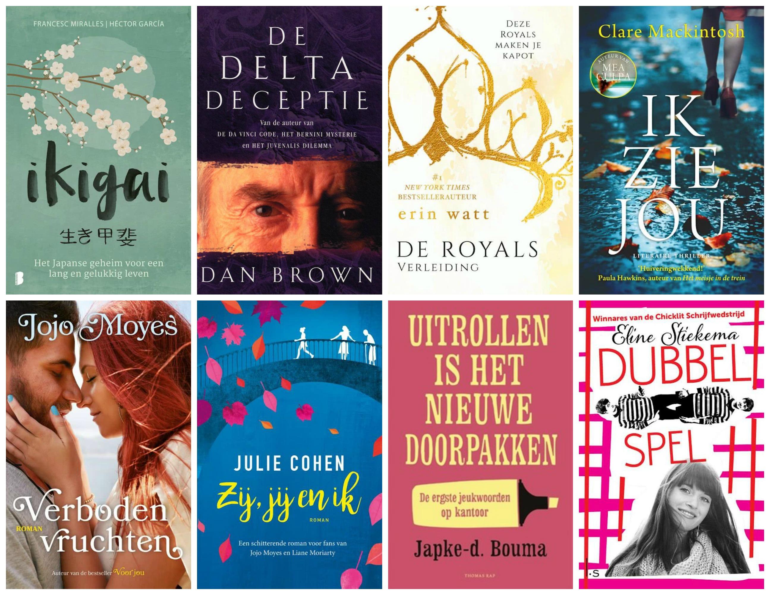 8 X romantische, inspirerende en spannende boeken voor jou