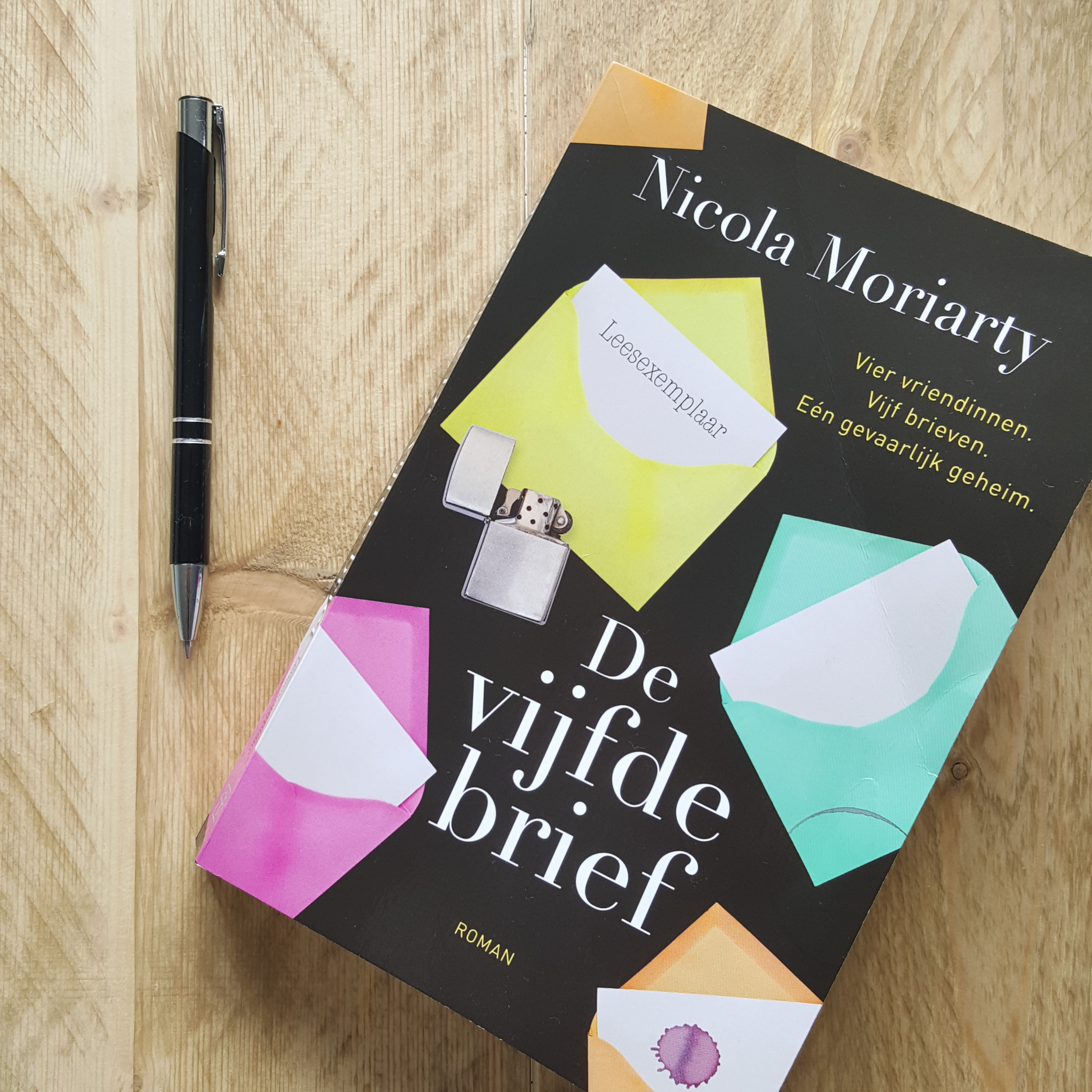 Recensie – De vijfde brief door Nicola Moriarty