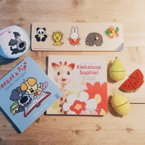 7 X Favoriet speelgoed van Lucas (dreumes van 1 jaar)