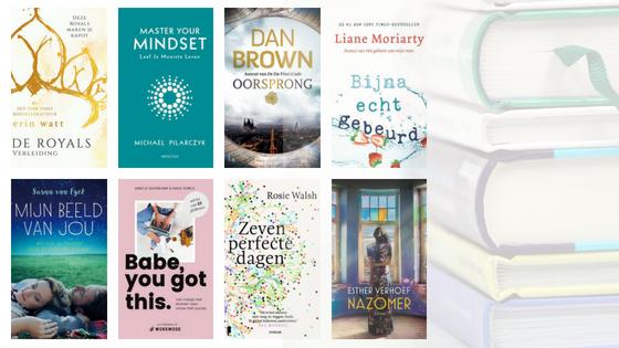 8 X Boekentips voor deze zomer