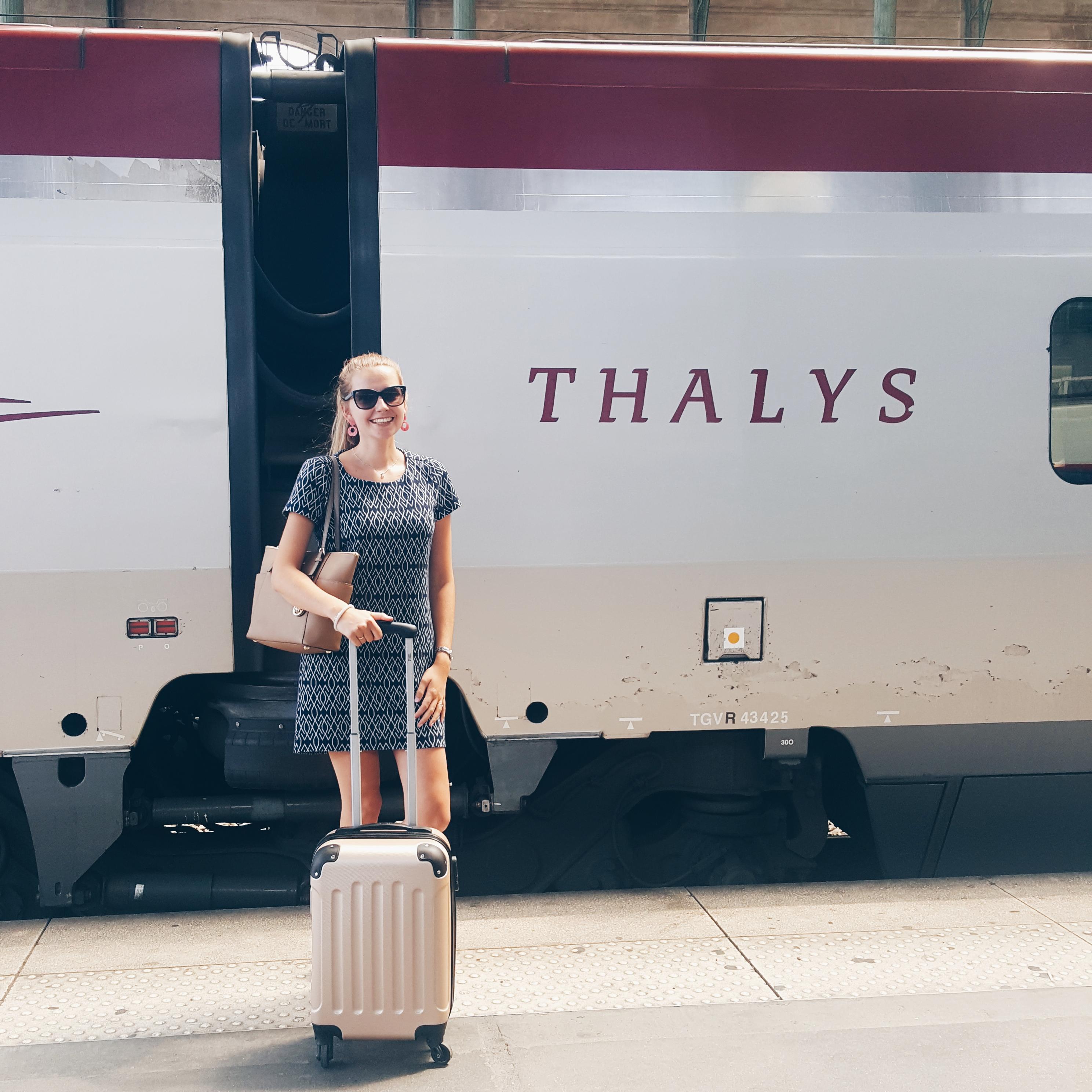 Mijn reiservaring met de Thalys (naar Parijs)
