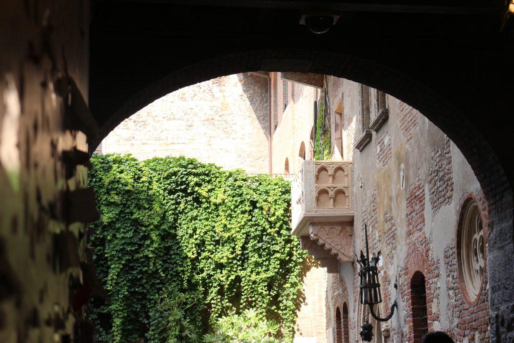 Verona Romeo Julia balkon