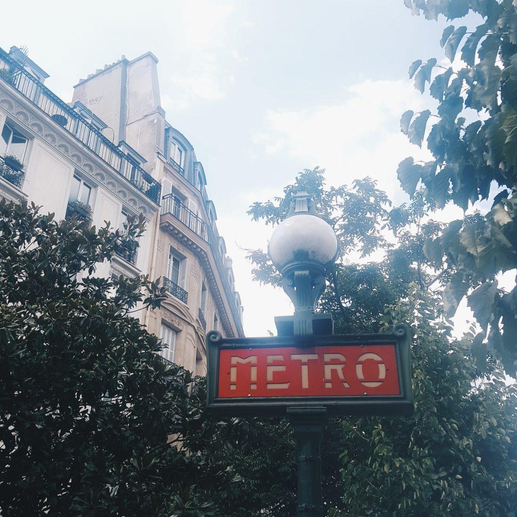 Metro Parijs