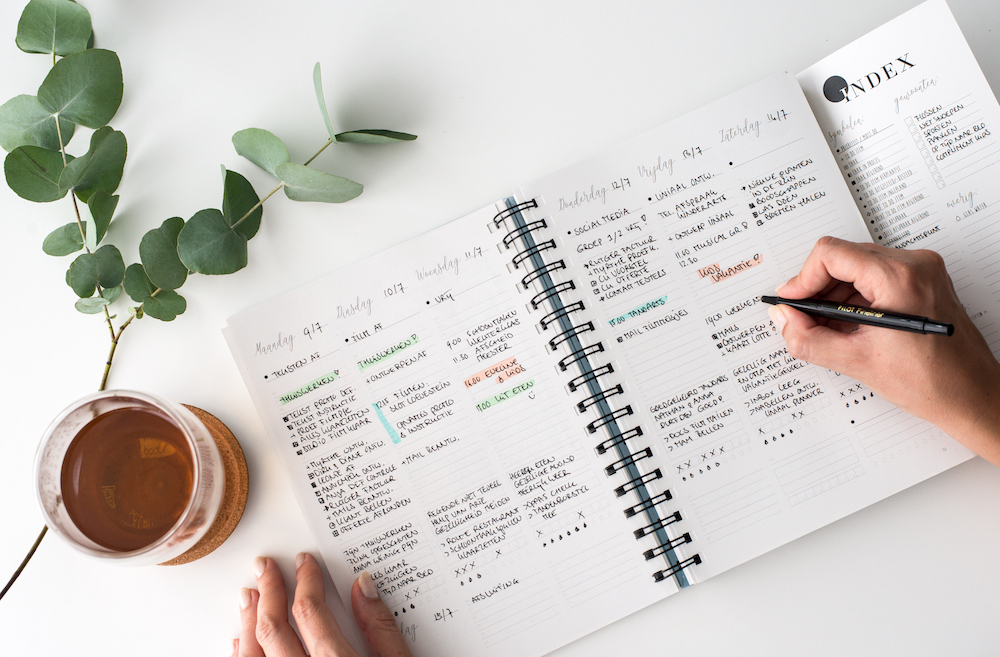 Balans Planner index