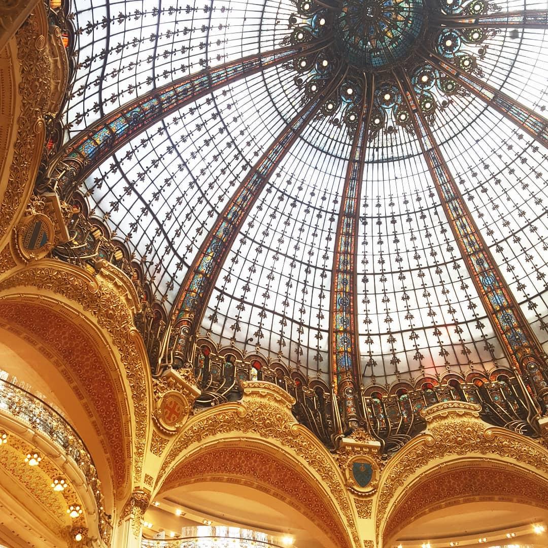 Parijs dag #2 – Galeries Lafayette, relaxen bij het Louvre en de boottocht