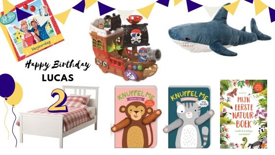Verjaardagscadeautjes voor Lucas – Wat geef je cadeau aan een tweejarige?