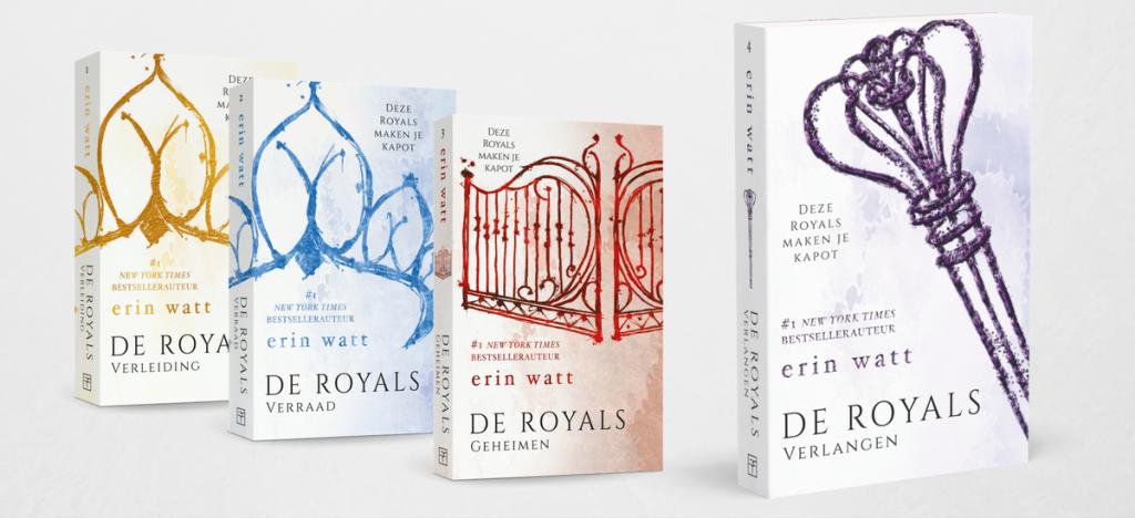 de royals serie erin watt