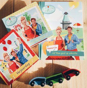 Lucas groeit op met… Juf Roos boeken