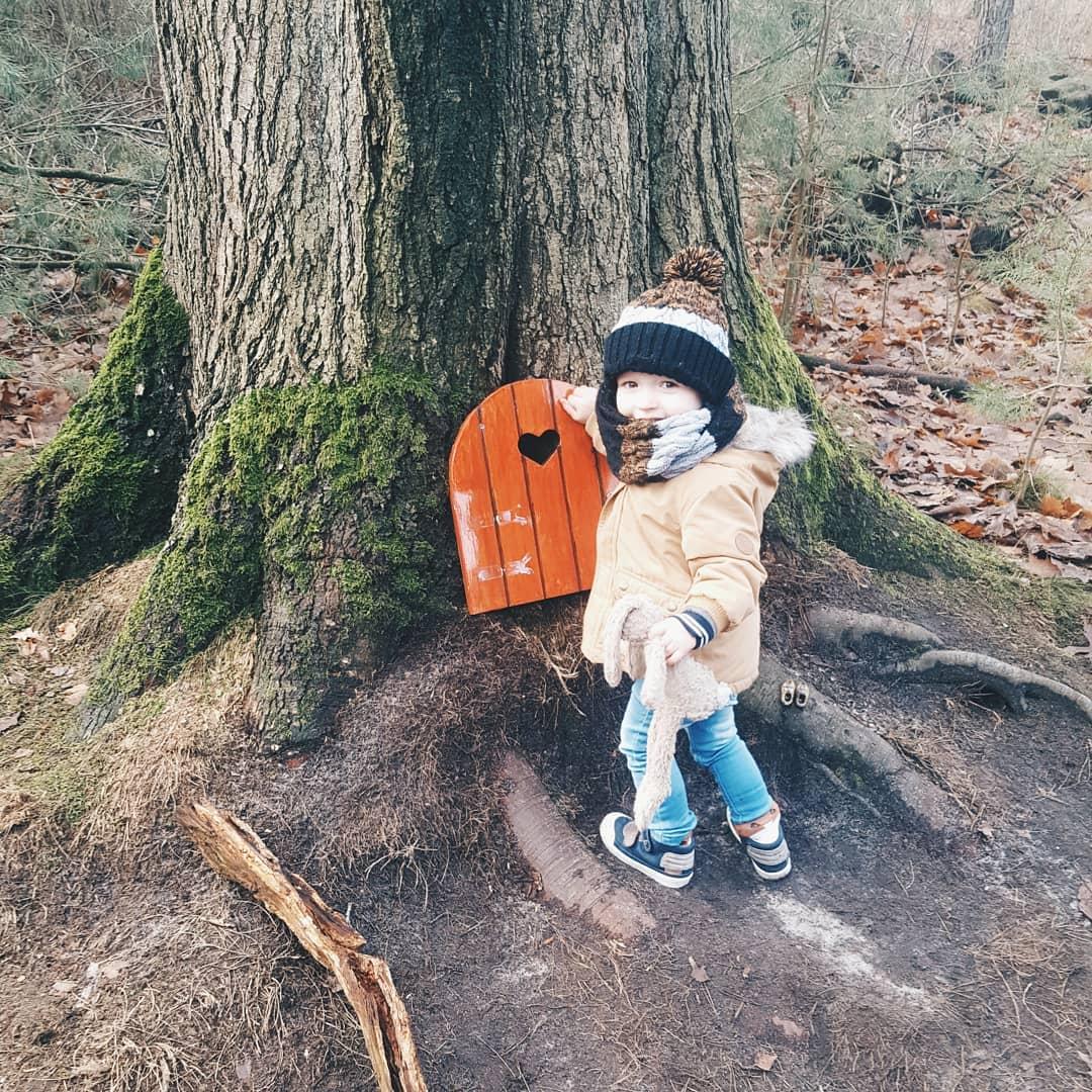Gratis uitstapje met peuter – Het kabouterpad in het bos