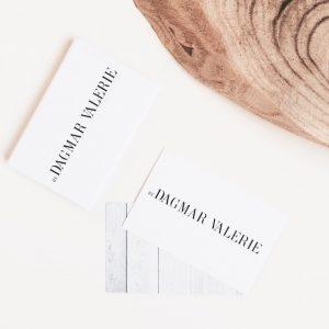 Coming soon: nieuwe lay-out, stijl en visitekaartjes By Dagmar Valerie